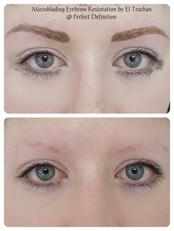 Eyebrows Restoration Microblading by El Truchan _ Perfect Definition.....