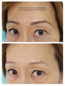 Oriental Eyebrows Microblading by El Tru