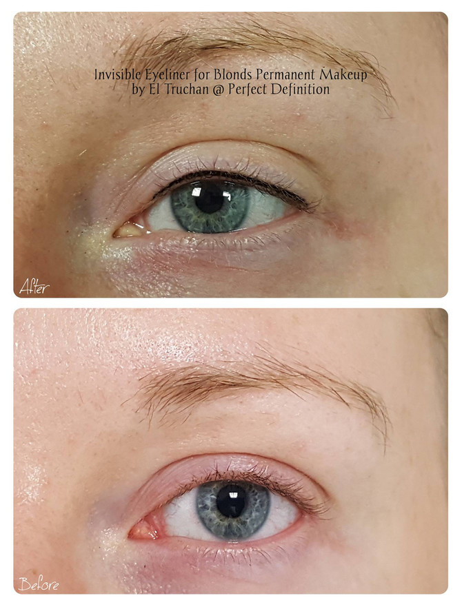 Invisible Eyeliner for Blonds Permanent Makeup by El Truchan @ Perfect Definition