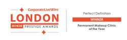 El Truchan Winner Prestige London Awards