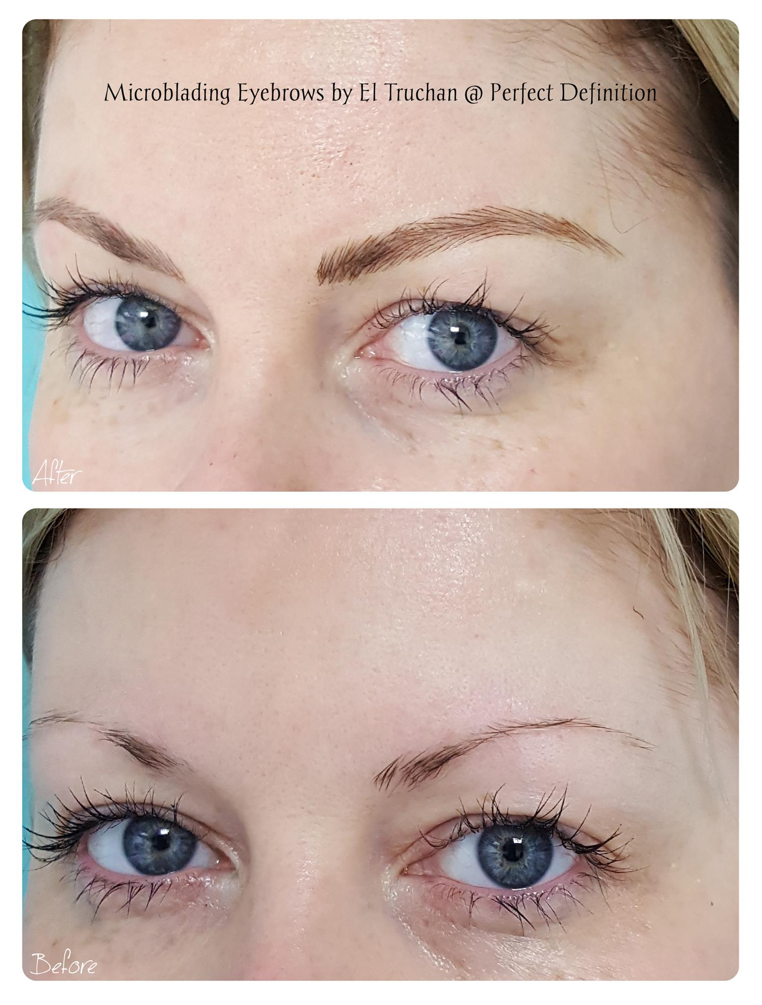 Microbladed Eyebrows by El Truchan