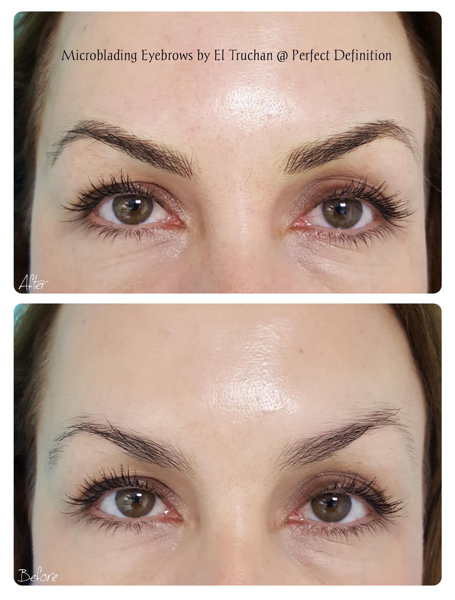 Microblading Eyebrows by El Truchan