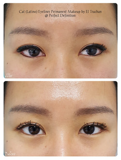 Cat (Latino) Eyeliner Permanent Makeup b