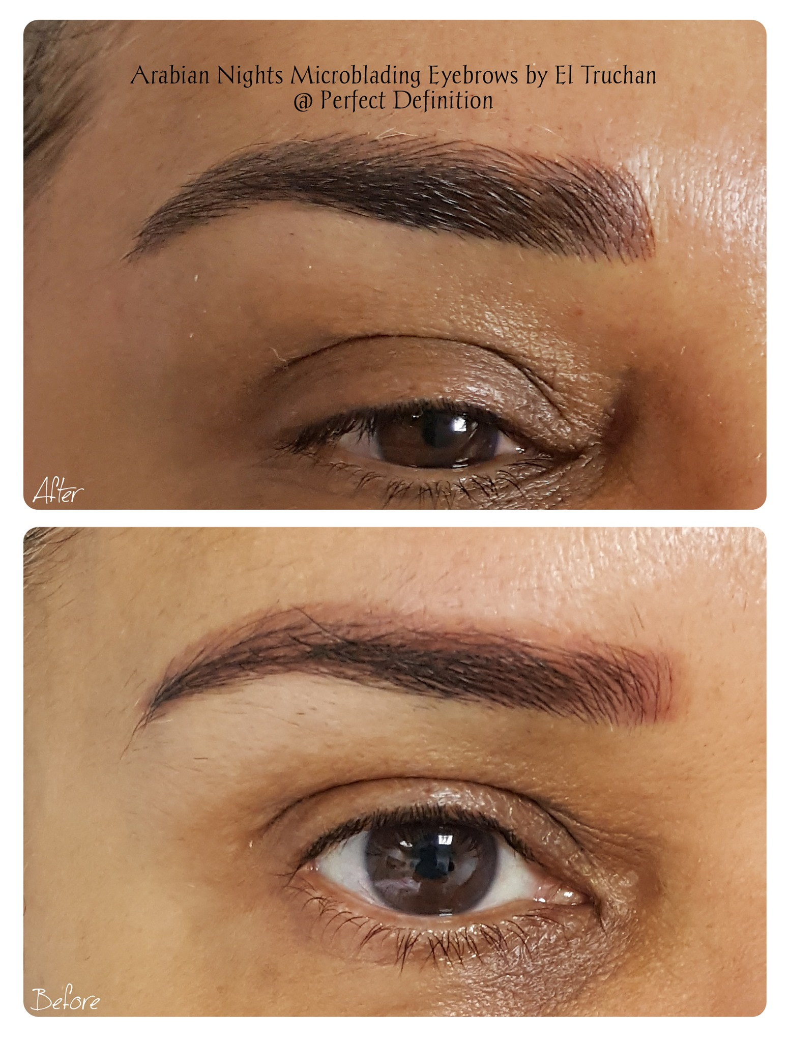 Arabian Nights Microblading Eyebrows by