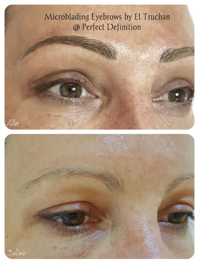 Eyebrows Microblading by El Truchan CPCP