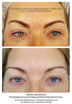 3D Realism Eyebrows Microblading & Baby