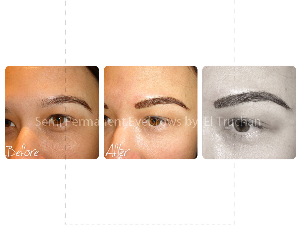 Semi Permanent Hairstroke Eyebrows by El Truchan.jpg