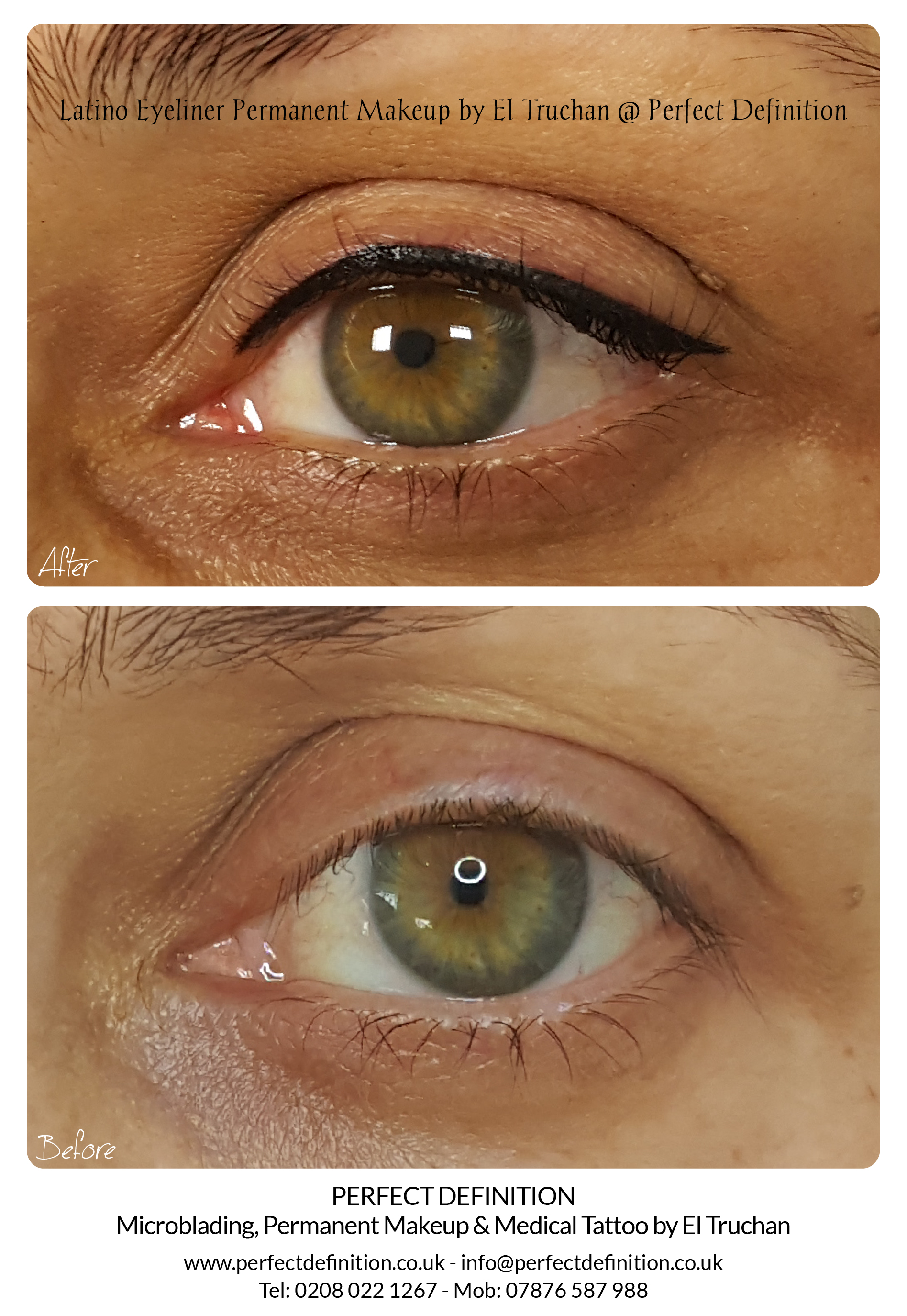 Latino Eyeliner Permanent Makeup by El T