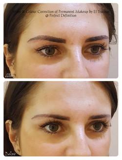 Shape & Colour Correction Permanent Eyebrows Makeup