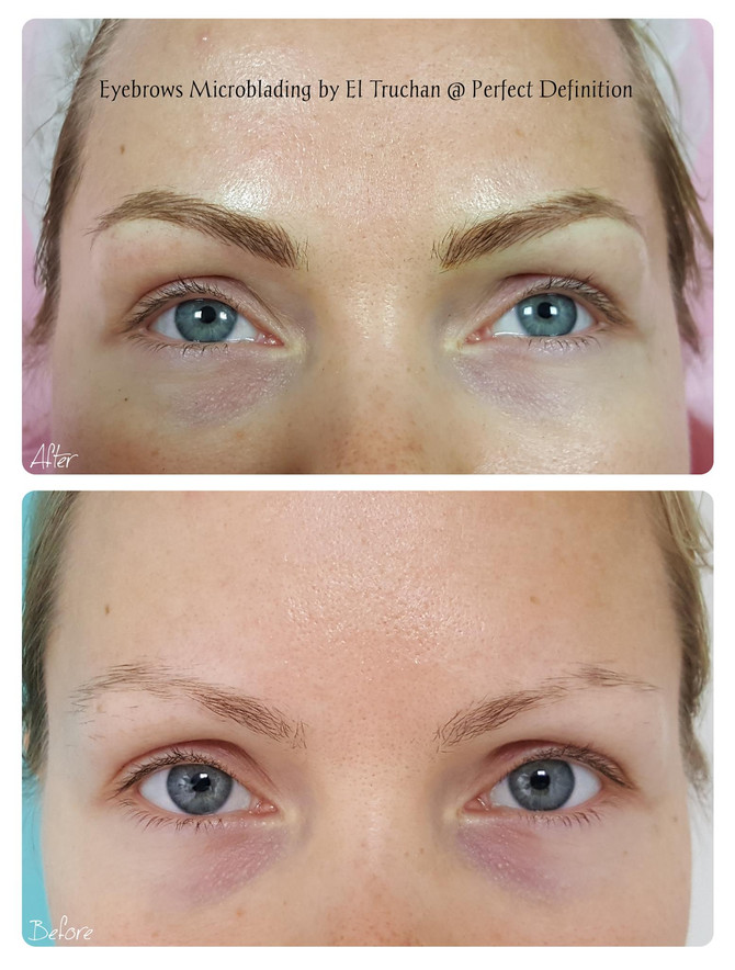 Eyebrows Microblading by El Truchan @ Perfect Definition