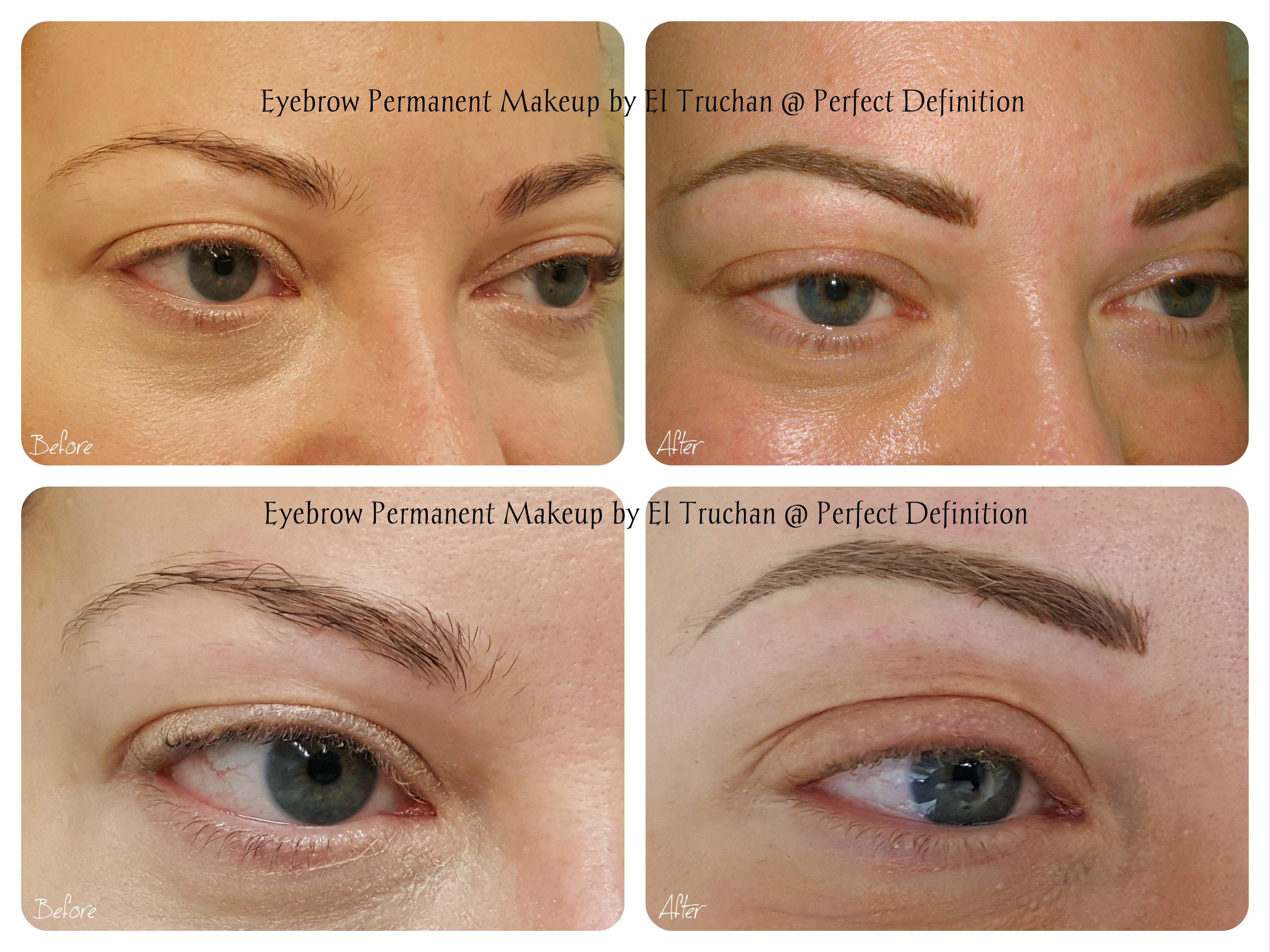 Eyebrows PMU by El Truchan cpcp..