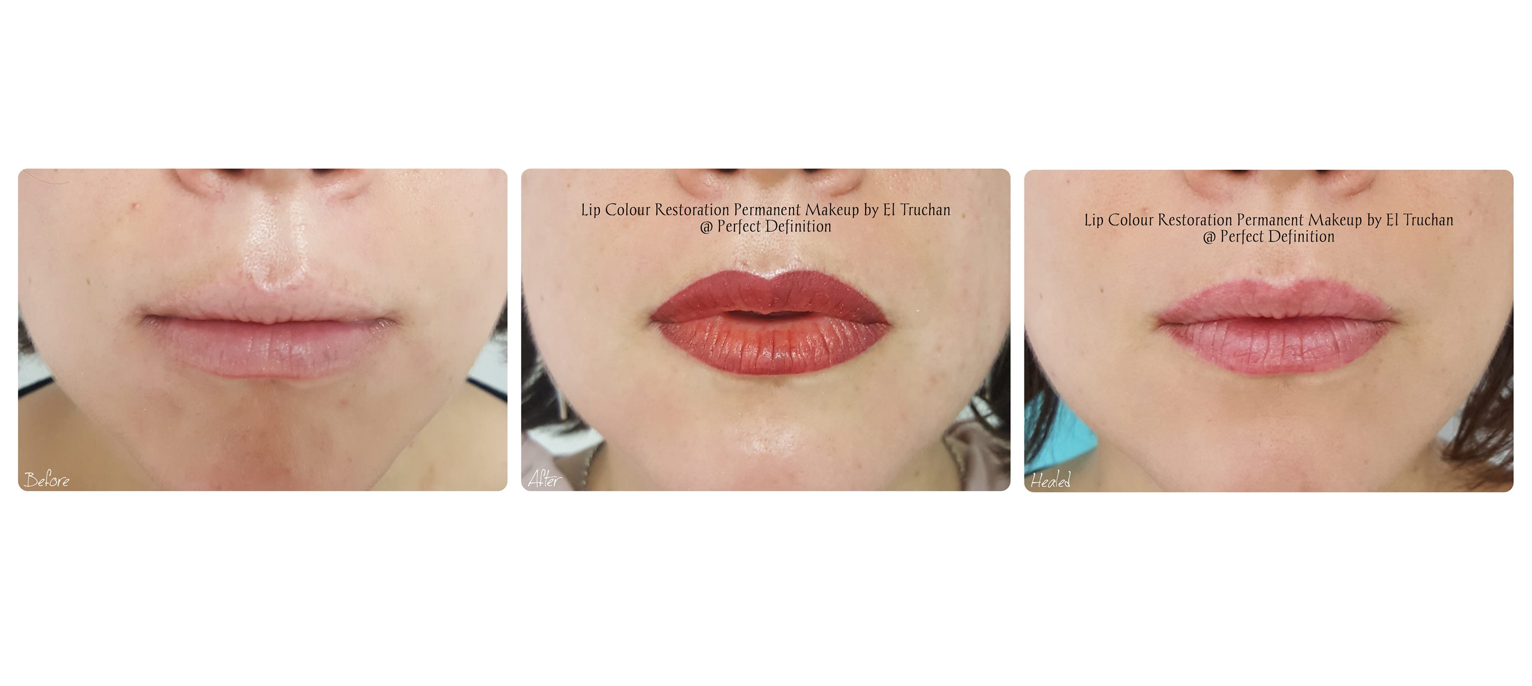 Lip Colour Restoration Permanent Makeup