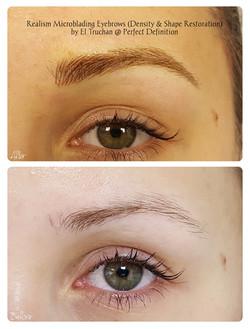 Realism Microblading Eyebrows (Density &