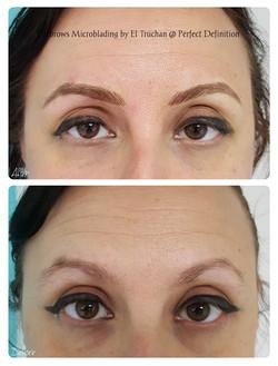 Eyebrows Miceoblading by El Truchan _ Pe