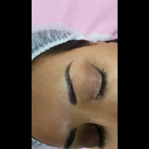 Healed 3D Microblading after 1 session by El Truchan