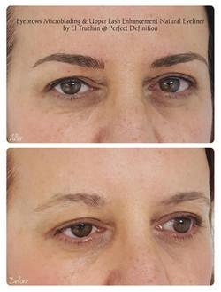 Lash Enhancement Eyeliner and Eyebrows Microblading