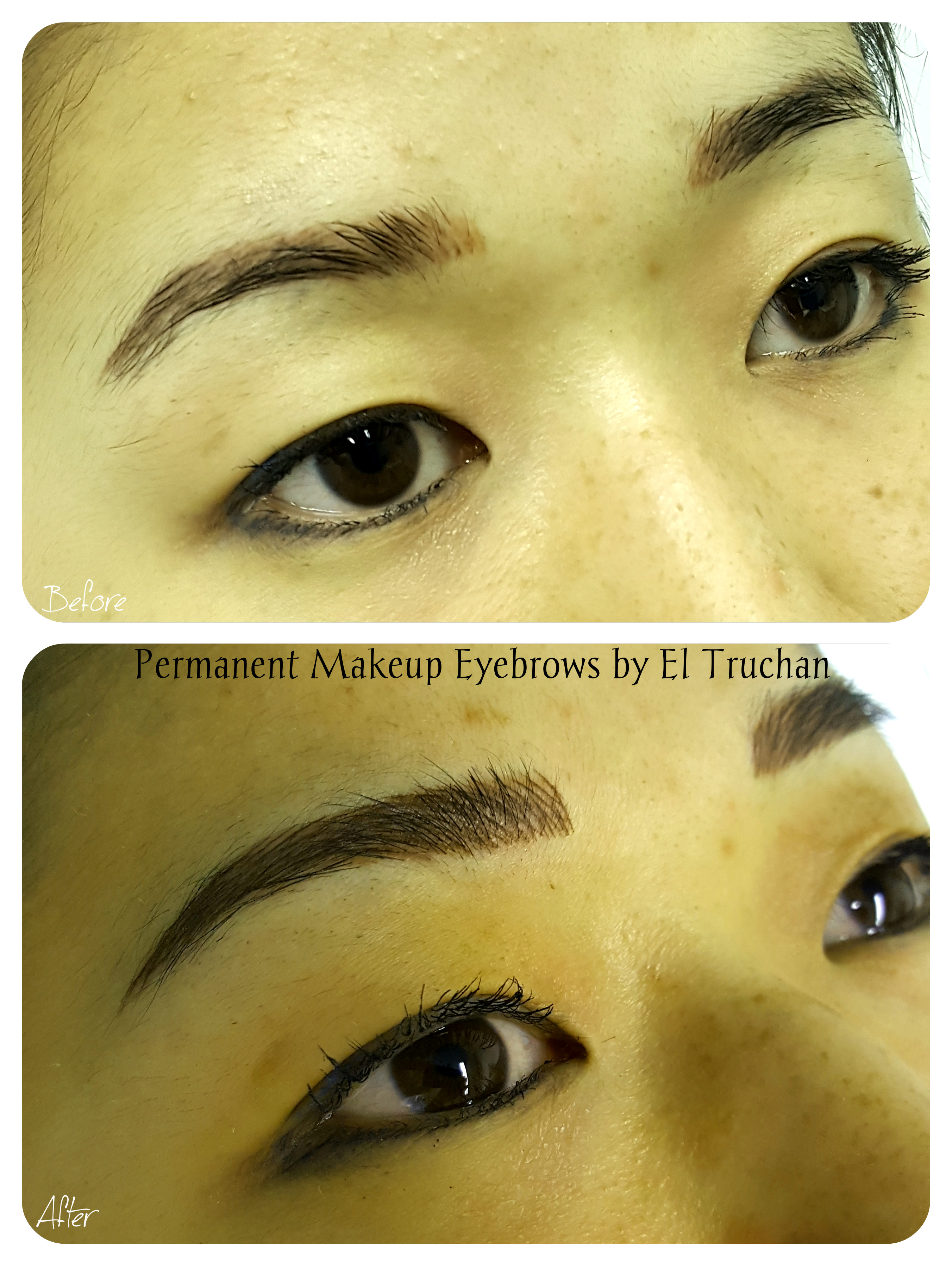 Permanent Makeup Cosmetic Tattoo Eyebrow  by El Truchan