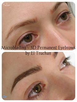 Microbalded 3D eyebrows by El Truchan