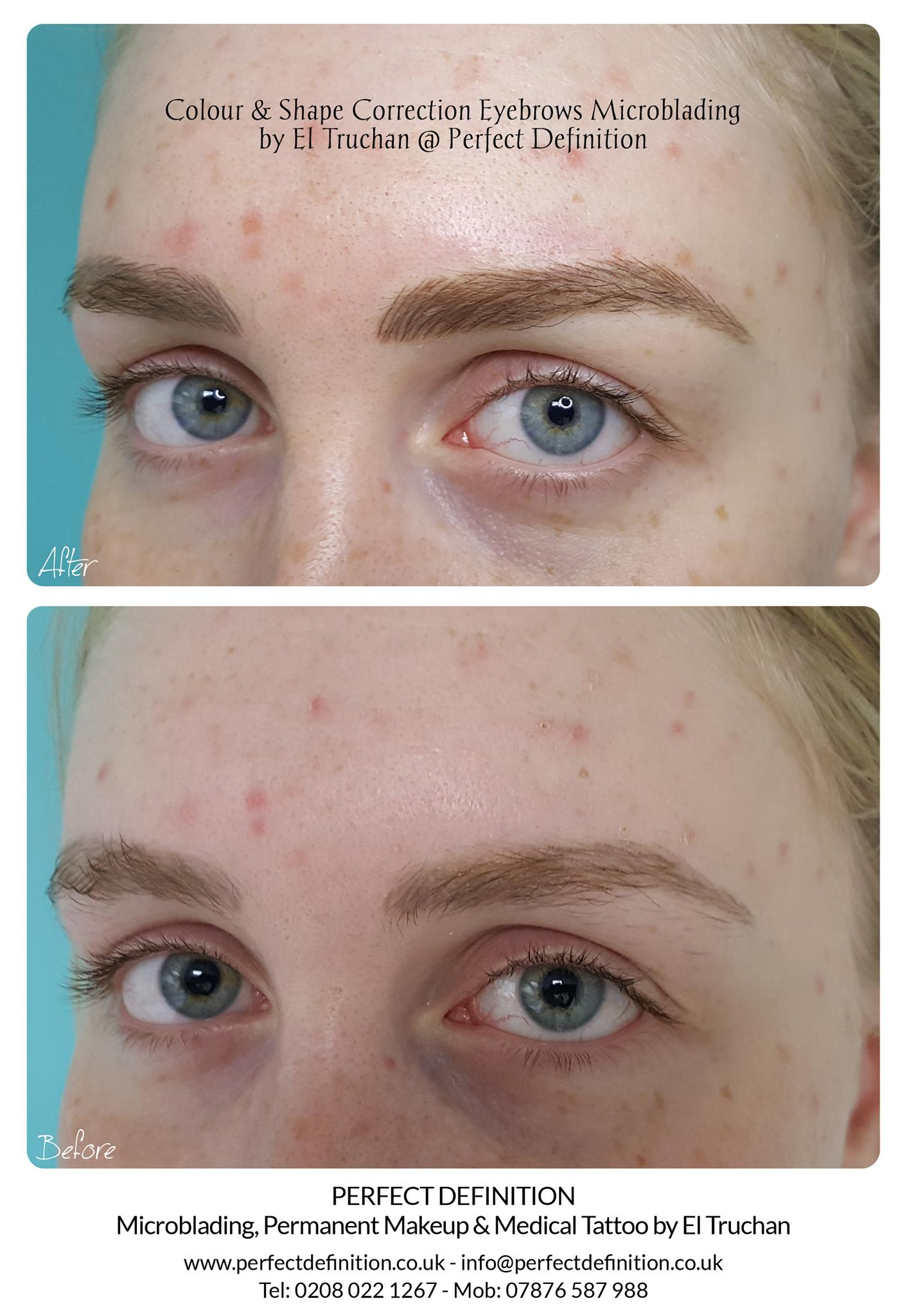 Colour & Shape Correction Eyebrows Micro