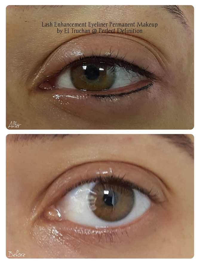 Lash Enhancement Eyeliner Permanent Makeup by El Truchan @ Perfect Definition