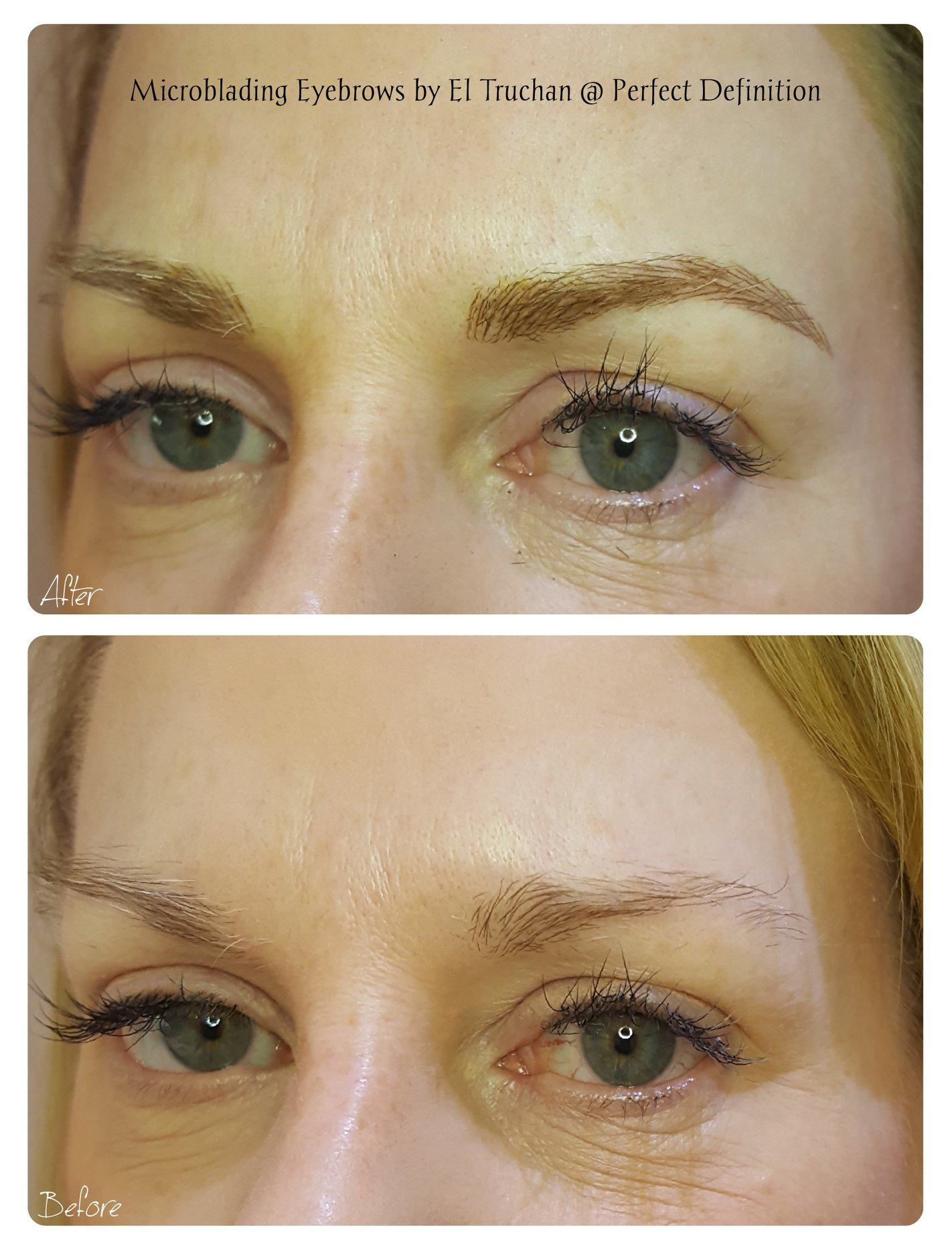 Microblading Eyebrows by El Truchan _ Pe