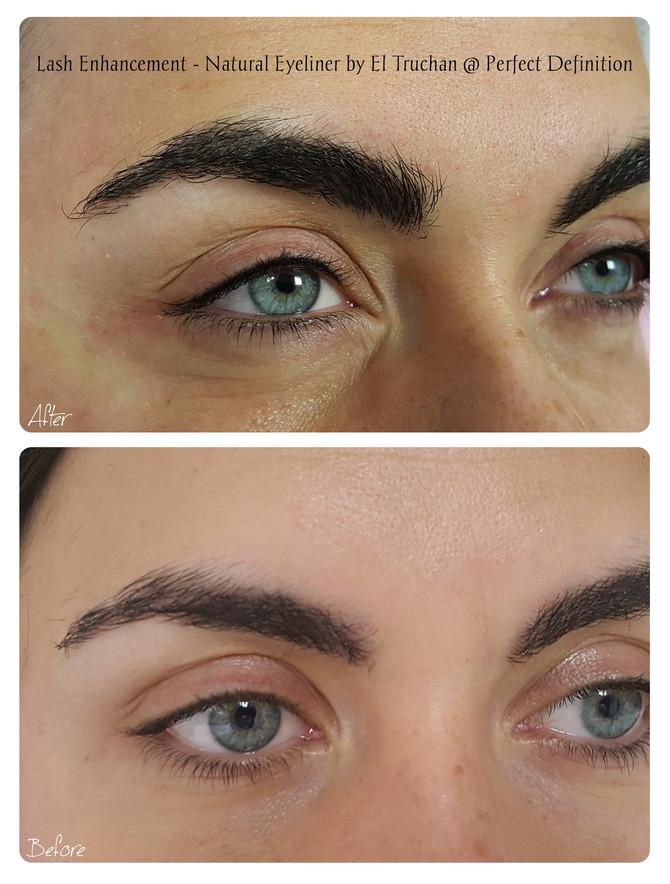 Lash Enhancement Discreet Eyeliner by El Truchan @ Perfect Definition