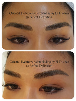 Oriental Eyebrows microblading by El Truchan in London _ Perfect Definition001