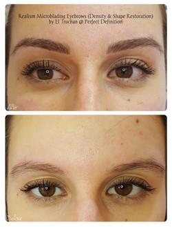 Realism Microblading Eyebrows (Density _