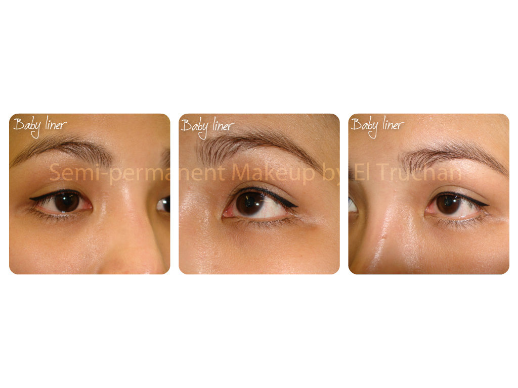 Baby Eyeliner Semi Permanent Makeup by El Truchan 1
