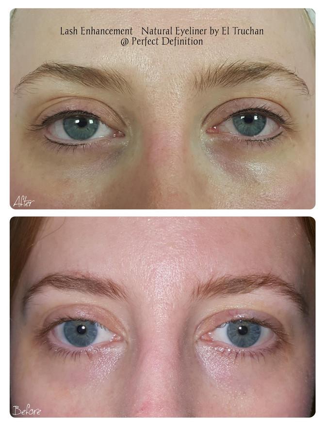 Lash Enhancement - Natural Eyeliner Permanent Makeu by El Truchan @ Perfect Definition