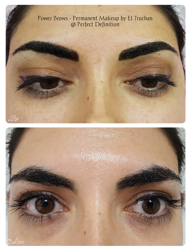 Power Brows Permanent Makeup by El Truchan @ Perfect Definition
