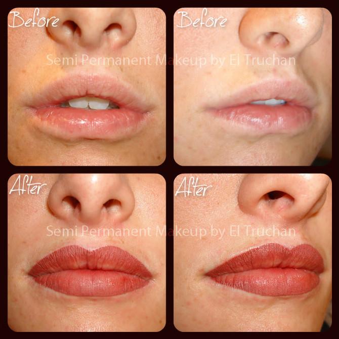 Choosing the right lip shade – permanent make up