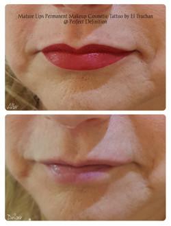 Mature Lips Permanent Makeup Cosmetic Ta
