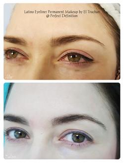 Latino Eyelinier Permanent Makeup by El