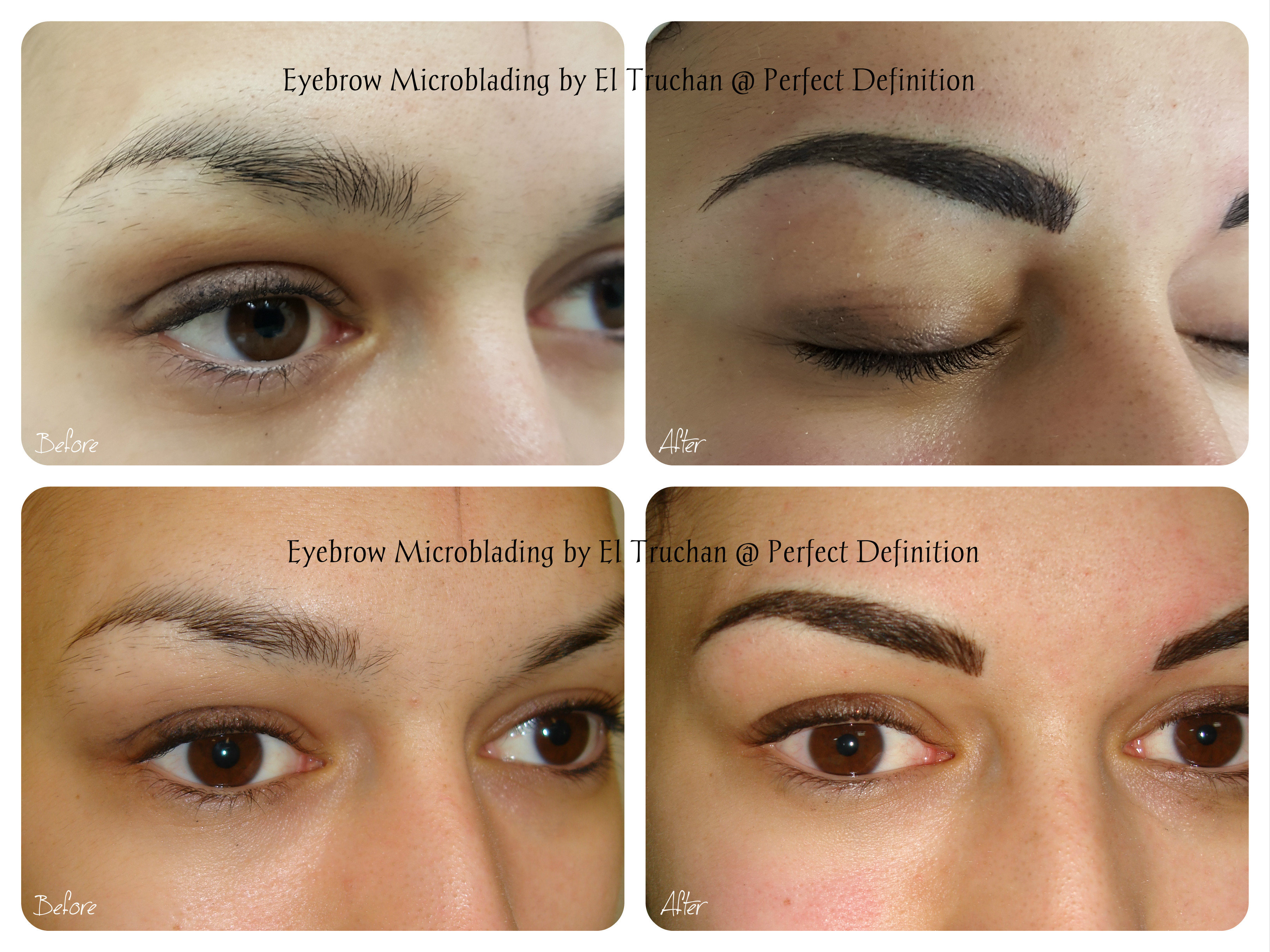 Eyebrow microblading by El Truchan_ Perfect Definition