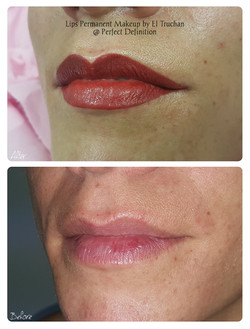 Lips Permanent Makeup by El Truchan