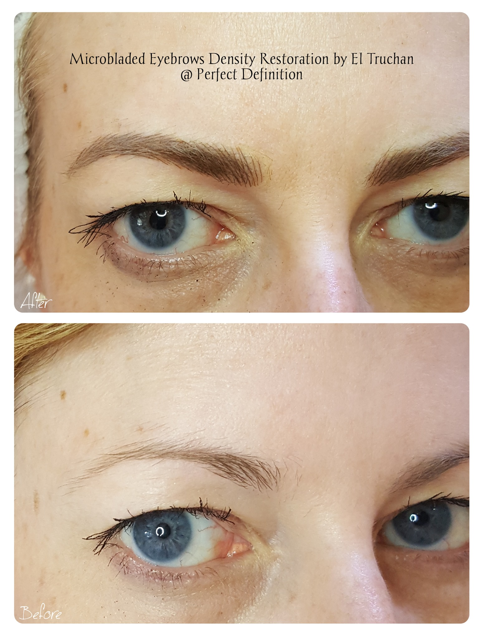 Microbladed Eyebrows Density Restoration