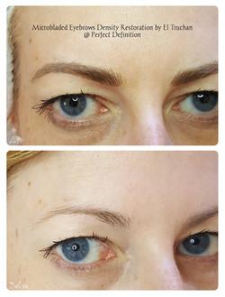 Microbladed Eyebrows Density Restoration