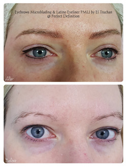 Eyebrows Microblading and Latino Eyeliner