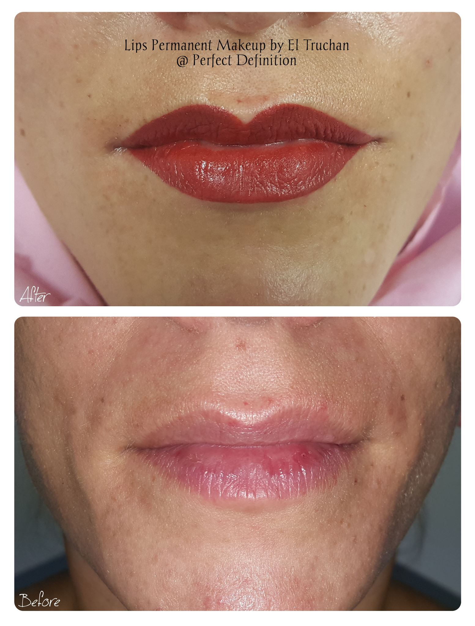 Lips Permanent Makeup by El Truchan