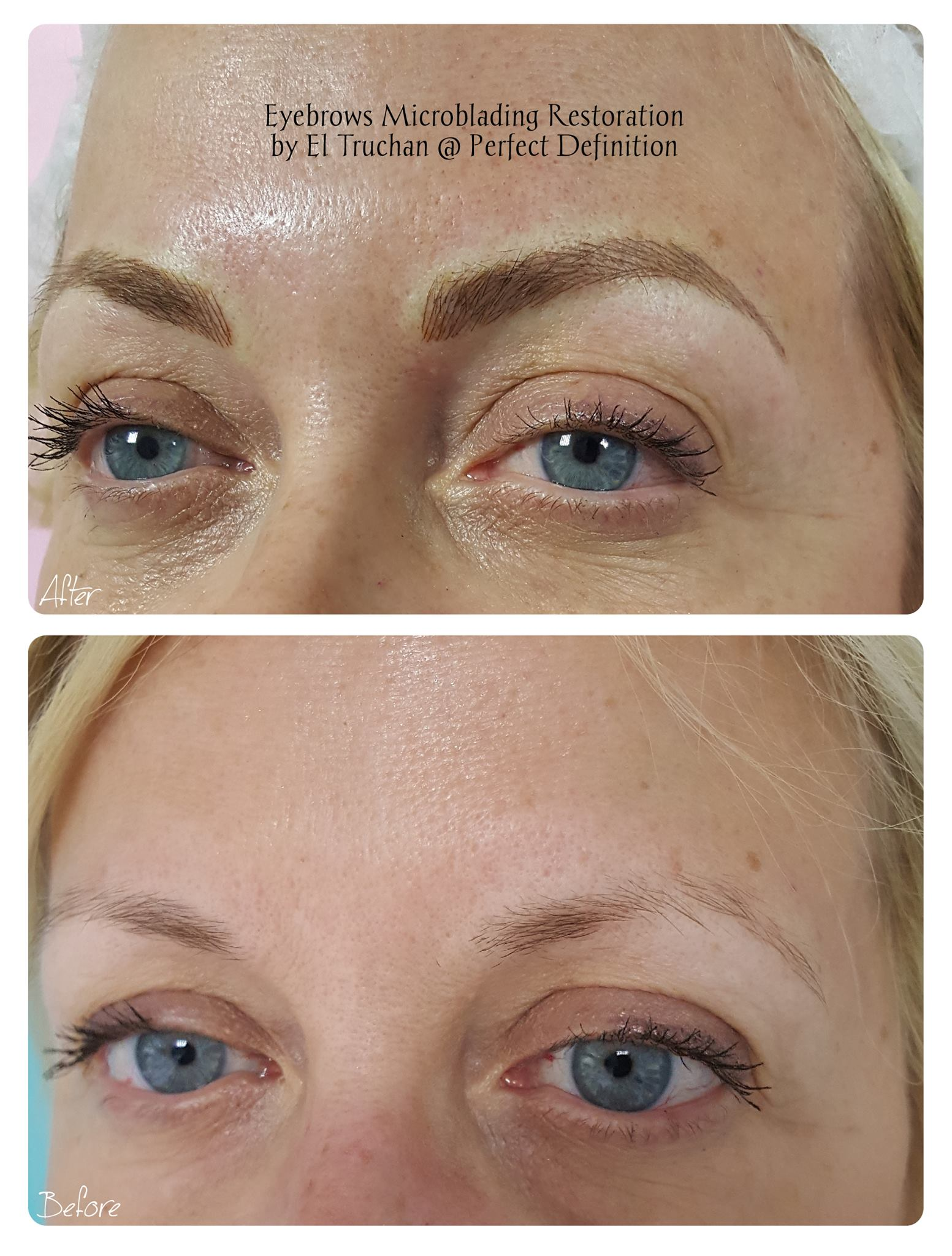 Eyebrows Microblading Restoration by El