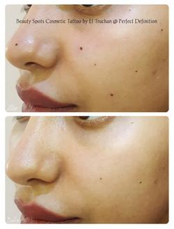 Beauty Spot Cosmetic Tattoo by El Trucha