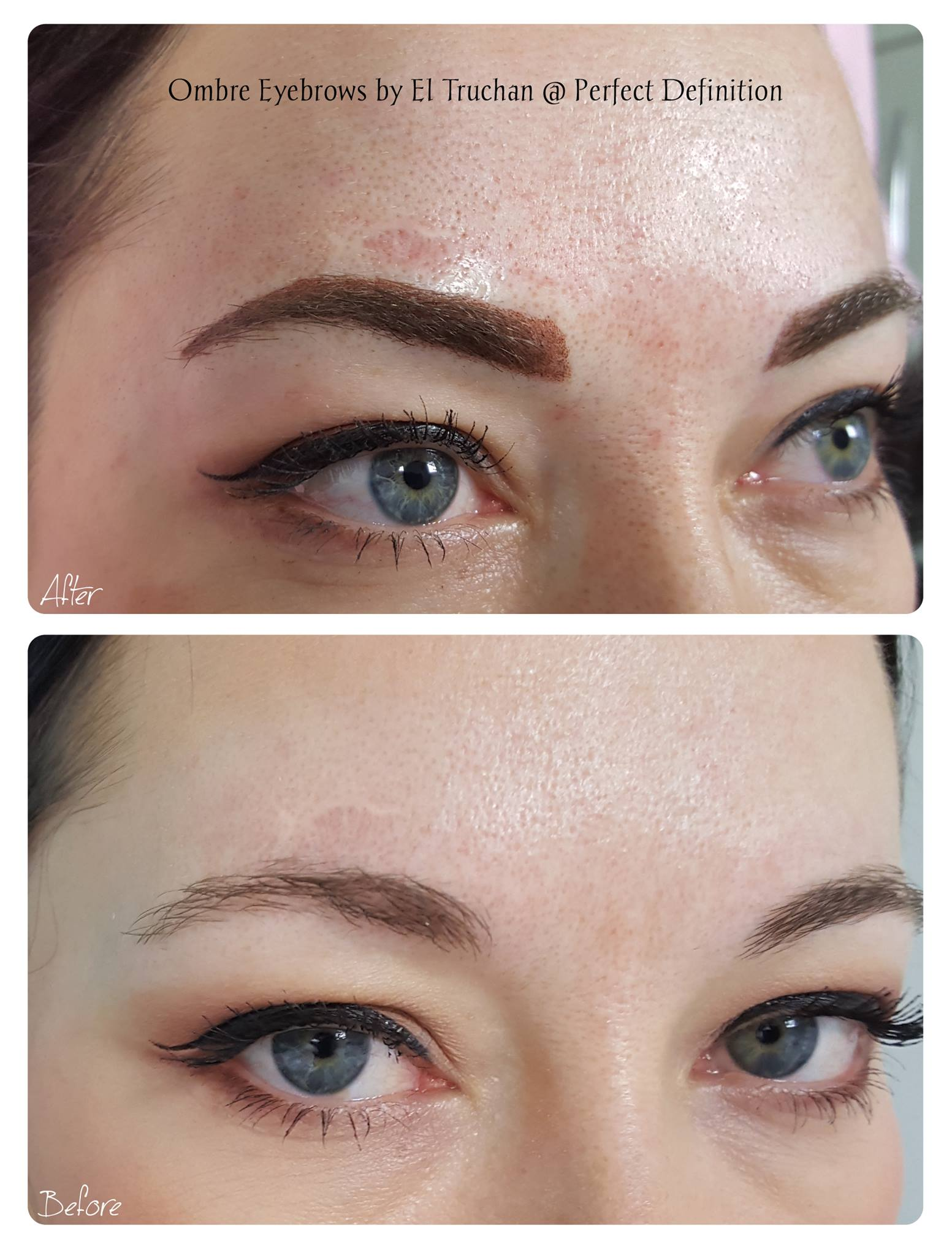 Ombre Eyebrows by El Truchan