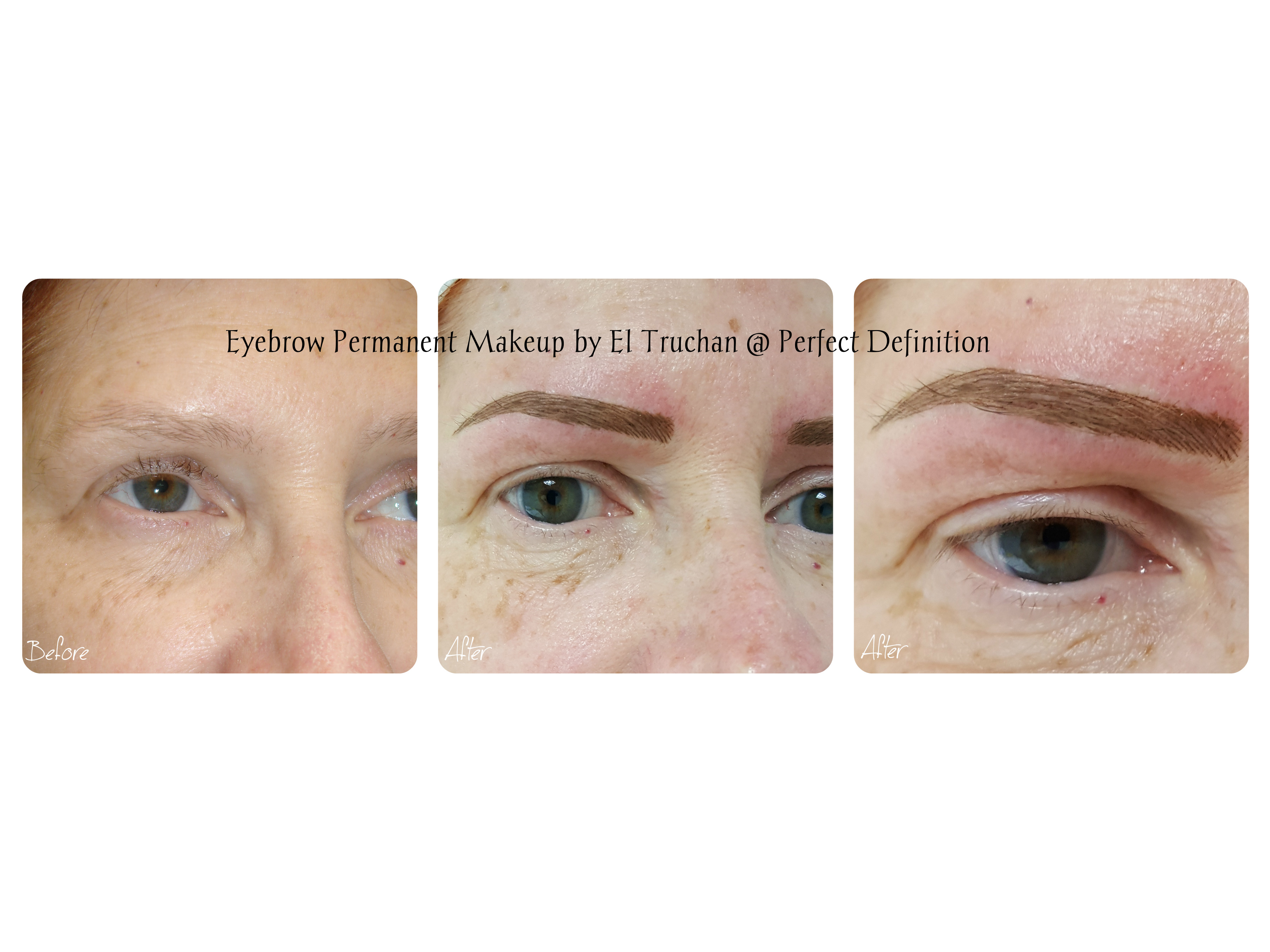 Eyebrows Permanent Cosmetic Tattoo by El Truchan...