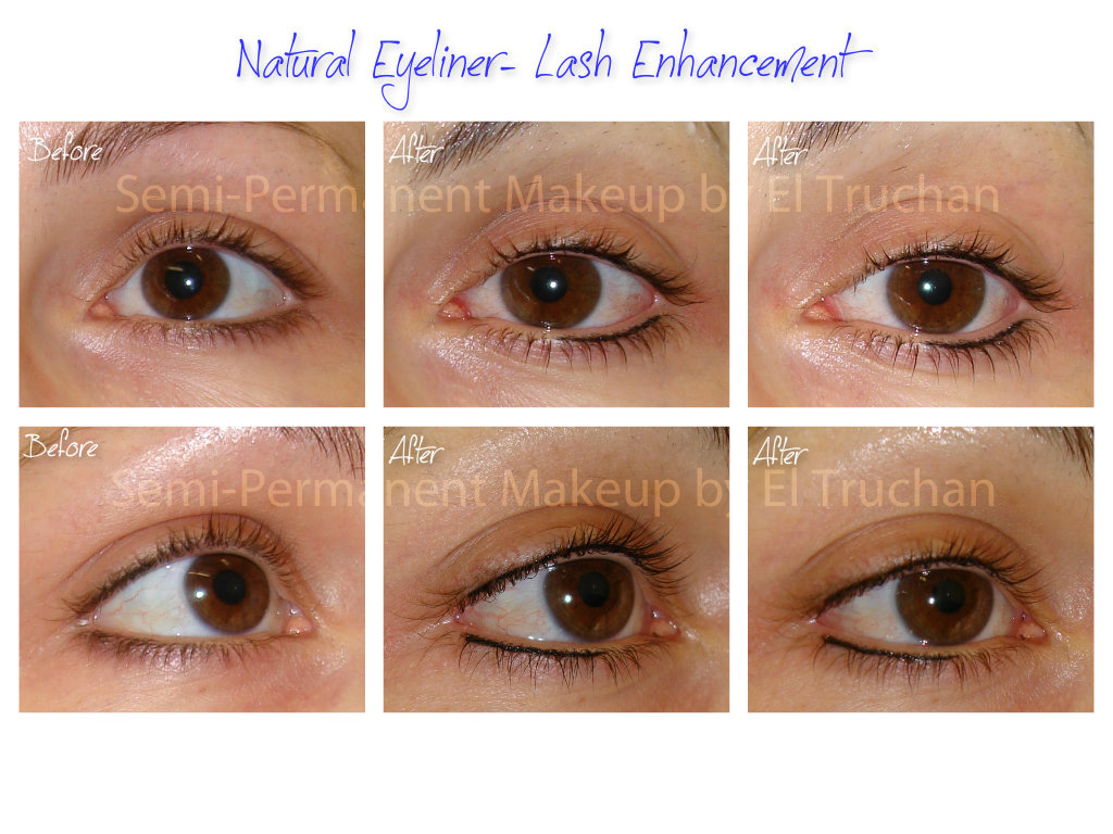 Lash Enhancement -Natural Eyeliner