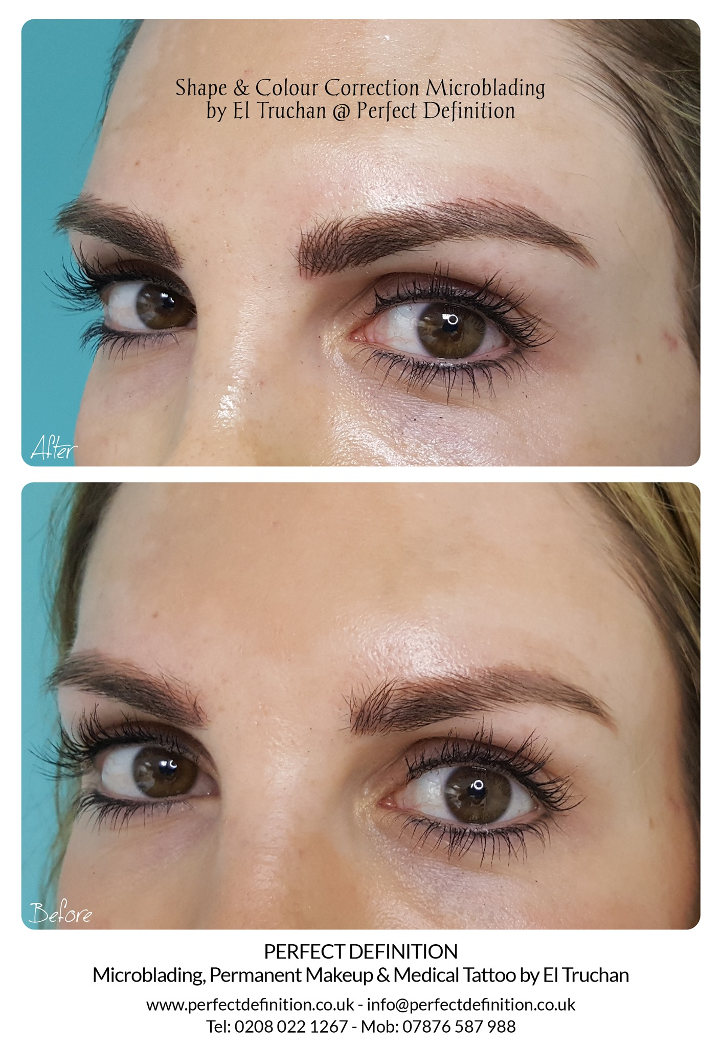 Colour Correction Microblading by El Tru