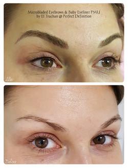 Microbladed Eyebrows & Baby Eyeliner PMU