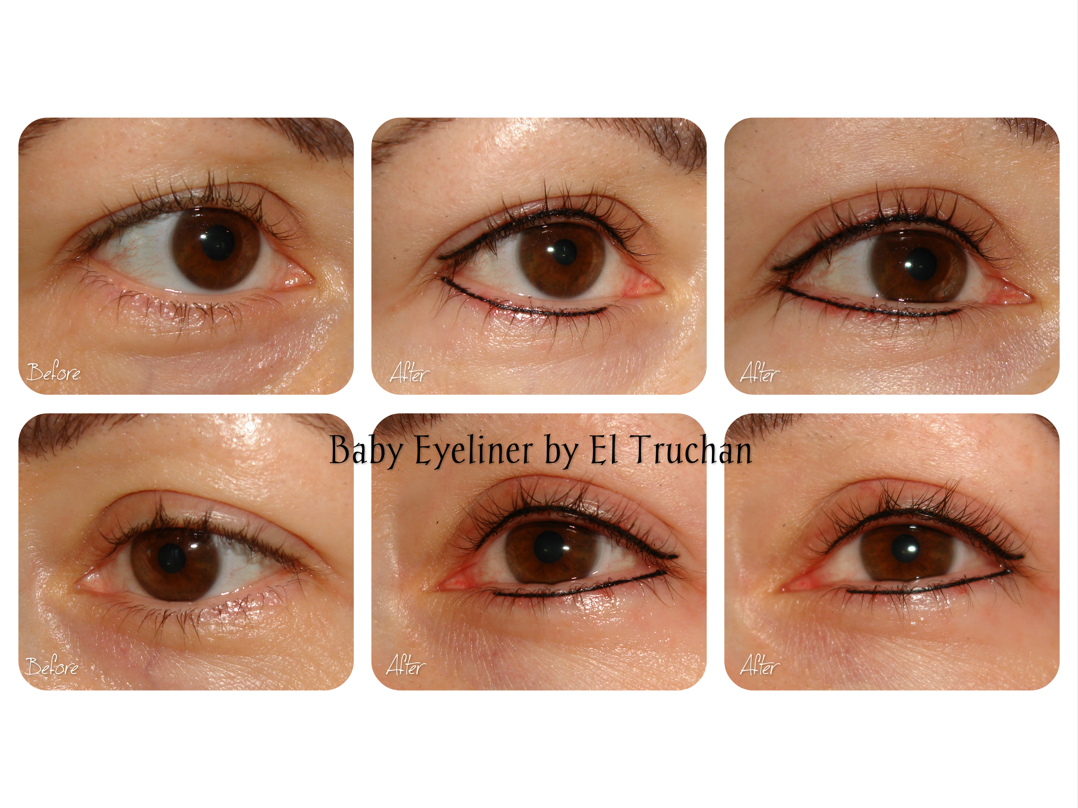 Baby Eyeliner semi permanent makeup by El Truchan