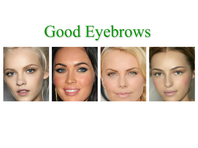 Semi permanent eyebrows advice. Part 2 – Young women