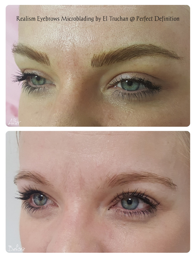 Realism Eyebrows Microblading by El Truchan @ Perfect Definition
